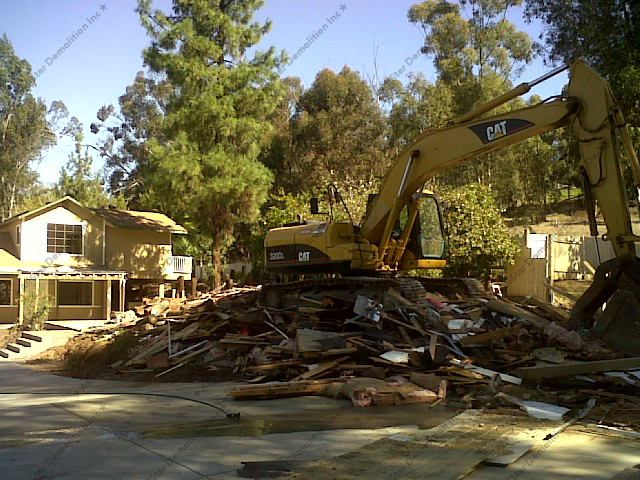During House Demolition